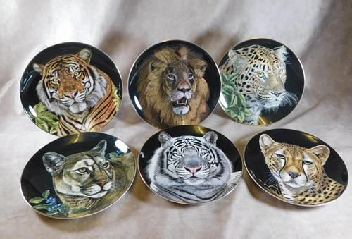 Set of Six Royal Doulton Limited Edition Collectors Plates (1 of 15)