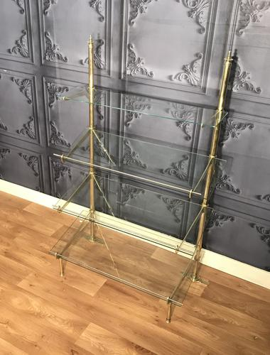 Edwardian Brass Shop Fitting (1 of 8)