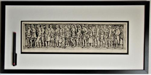 R S Forrest print, Scottish National War Memorial, after Meredith Williams c1927 (1 of 8)
