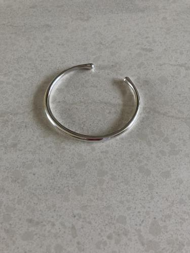Georg Jensen Silver Bangle. 1960s (1 of 4)