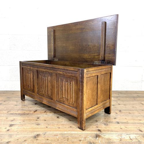 Vintage Oak Blanket Box (1 of 10)