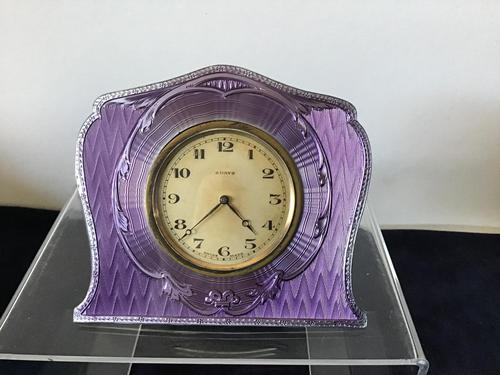 Clock - Enamel Strut-back (1 of 3)