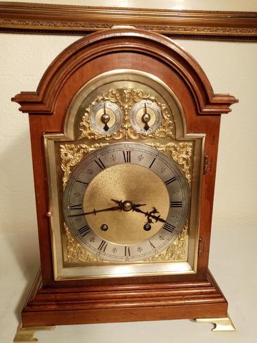 Ting-Tang, W&H  Mahogany Mantel / Bracket Clock (1 of 8)