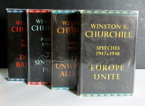 1948-1961 Post War Speeches by Winston S. Churchill 4 Volumes, 1st Editions with Dust Jackets (1 of 5)