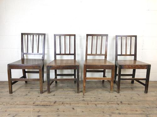 Harlequin Set of Four Welsh Farmhouse Chairs (1 of 16)