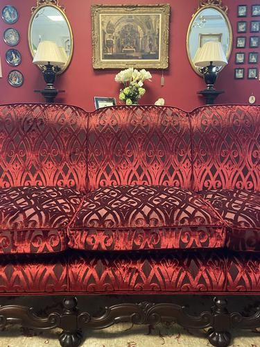Jacobean Style Carved Mahogany Suite (1 of 7)