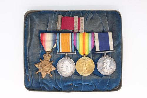 4 Medal Group Awarded to CH 20821 PTE.H.Hunt R.M.L.I (1 of 10)
