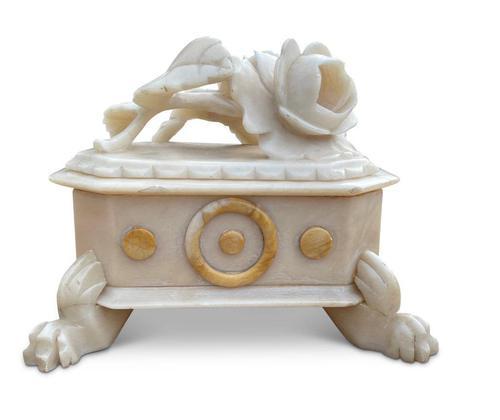 Alabaster Trinket Box (1 of 7)