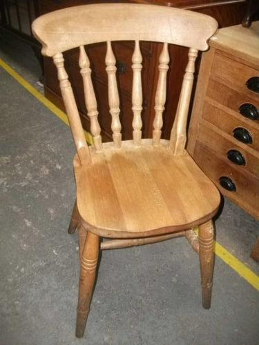 Spindle Back Kitchen Chair - 021-1665 (1 of 2)