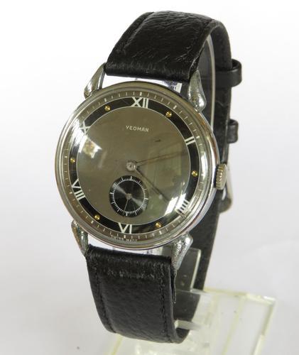 Gents 1940s Yeoman wrist watch (1 of 5)