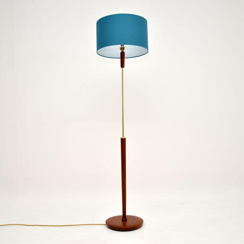1960's Danish Vintage Teak Floor Lamp (1 of 7)