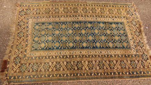 Antique Causasian Derbend Rug (1 of 7)