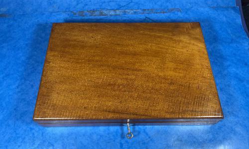 Victorian Mahogany Collectors Box (1 of 10)