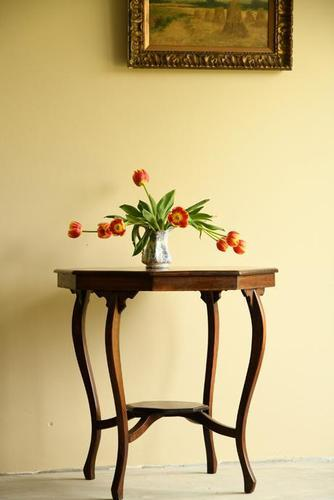 Edwardian Octagonal Centre Table (1 of 11)