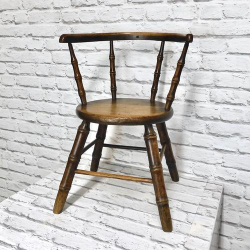 Child's Windsor Armchair with Faux Bamboo Turning (1 of 8)