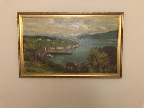 View of Tobermory by Frida Knight (1 of 1)