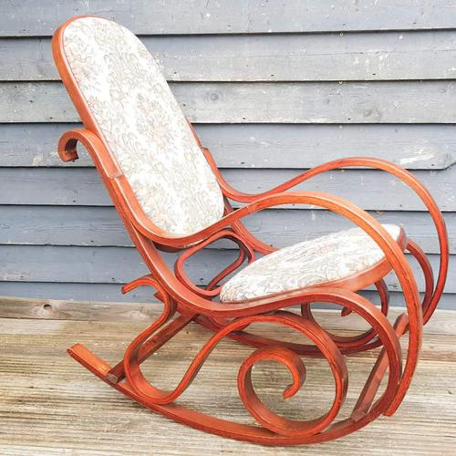 20th Century Bentwood Rocking Chair (1 of 10)