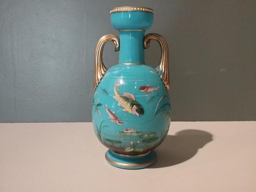 Aquatic: Herrach Guilded Glass Vase (1 of 4)