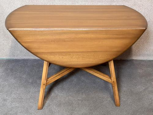 Vintage Ercol Drop Leaf Dining Table Golden Dawn (1 of 10)