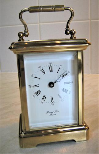 1940's Bornand Frères English Made Carriage Clock (1 of 7)