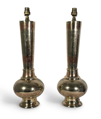 Anglo-Indian Lamps (1 of 6)