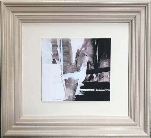 Original Watercolour Abstract by Alistair Michie RWS - Framed (1 of 3)