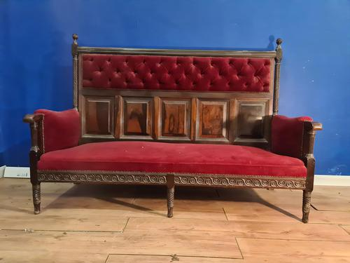 Rosewood Georgian Bench Settle 18th C (1 of 12)