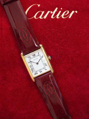 Cartier Tank Watch Unusex Size (1 of 3)