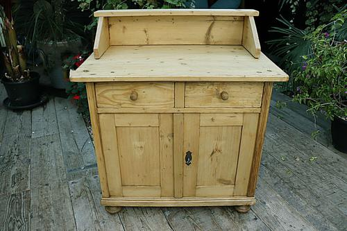 A Rare, Old Pine Sideboard/ Cupboard/ Desk/ Baby Changing Unit (1 of 11)