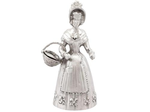 Sterling Silver Table Bell - Antique Edwardian (1 of 9)