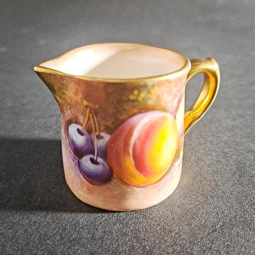 Royal Worcester Miniature Cream Jug (1 of 6)