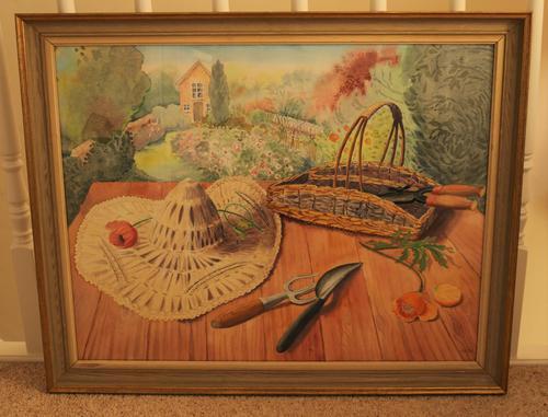 Still life in the artists garden by Joan Warburton (1 of 6)
