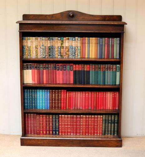 Oak Open Bookcase c.1910 (1 of 10)