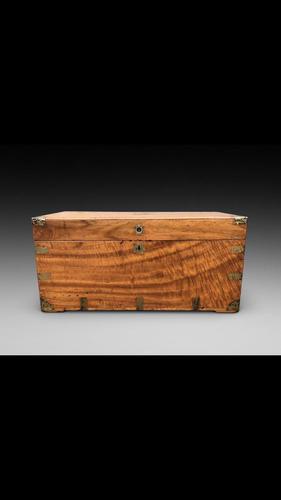 19th century Camphor wood trunk (1 of 4)