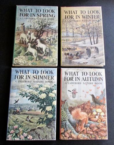 What To Look For In Summer, Winter, Spring  & Autumn,  Ladybird 1st Editions, 4 Volumes 4 Vols (1 of 7)