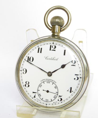Vintage 1930s Cortebert Pocket Watch (1 of 4)