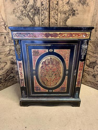 19th Century French Boulle Cabinet with Ormolu Detail (1 of 4)