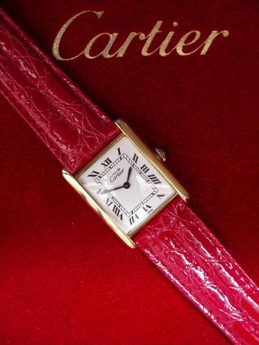 Cartier  Tank Unisex  Wristwatch (1 of 4)