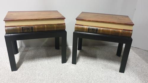Pair of Bedside Lamp Tables (1 of 5)