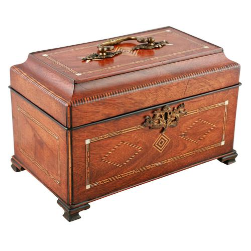 18th Century Chippendale Tea Caddy (1 of 8)