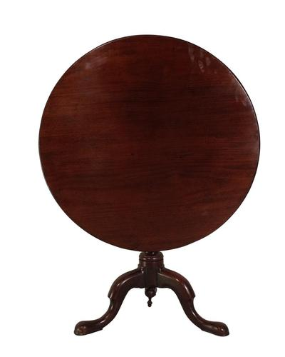 Mahogany Tilt Top Table (1 of 3)