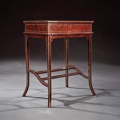 Unusual Early 20th Century French Thuya Wood Metamorphic Writing Table (1 of 13)