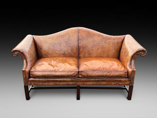 Georgian Style Camel Back Sofa (1 of 3)