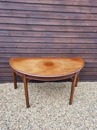George III 'd' End Console Table (1 of 3)