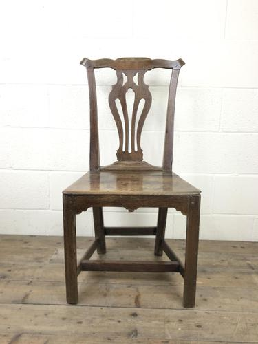 19th Century Oak Country Chair (1 of 9)