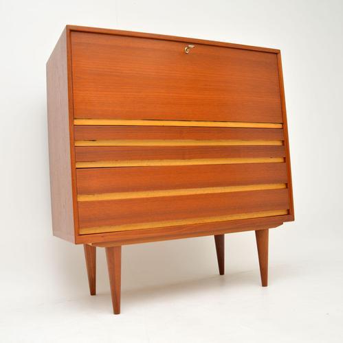 1960's Danish Teak Vintage Writing Bureau (1 of 12)