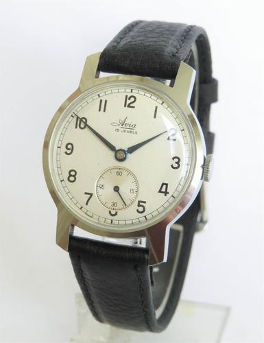 Gents 1950s Avia Wrist Watch (1 of 4)