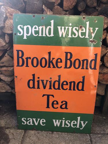 Brooke Bond Tea Advertising Sign (1 of 6)