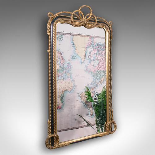 Very Large Antique Wall Mirror, English, Gilt, Overmantel, Dressing, Regency (1 of 12)