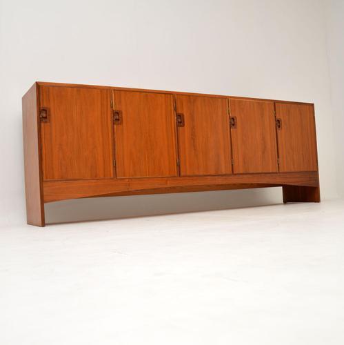 Danish Vintage Teak Sideboard by Harry Ostergaard for Randers (1 of 12)